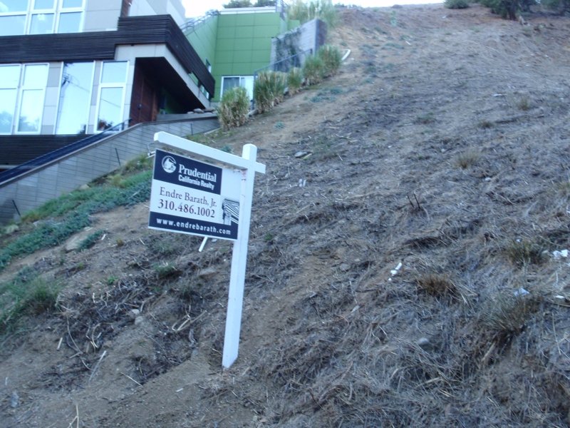 hollywood hills land for sale Endre Barath,Jr.