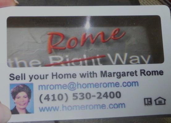 M Rome Magnicard