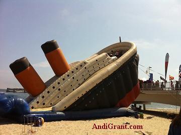 Long Beach Pirate Festival Slide