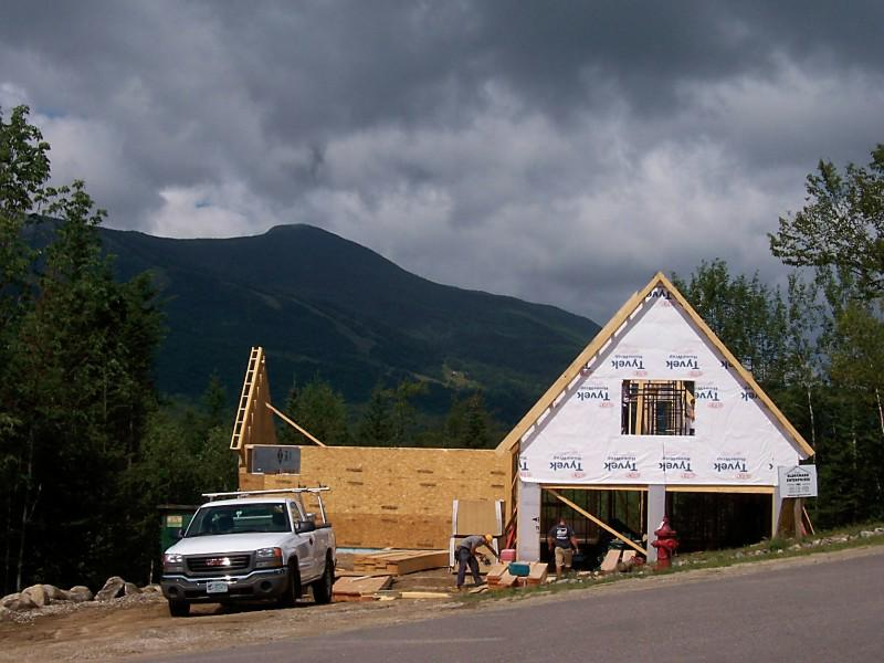 New Home Under Construction - Moose Run, Waterville Valley