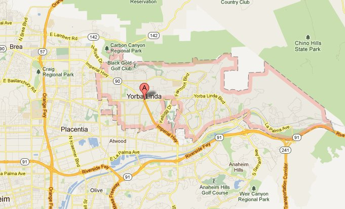 Why You Should Buy A Home In Yorba Linda CA - Where is brea california on the california map