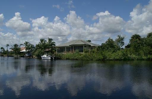 The Yacht and Country Club of Stuart, Florida Canal