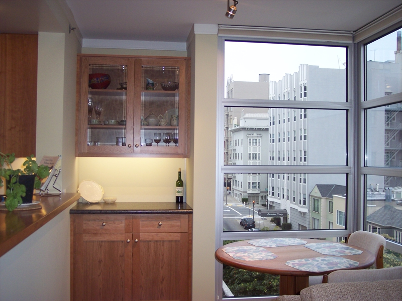 dining area, SF condo