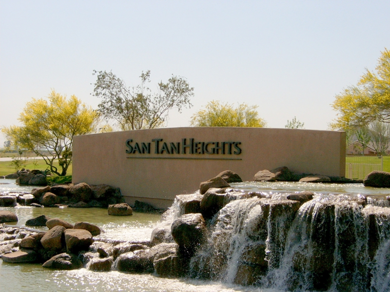 San Tan Heights Subdivision
