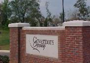 Governors Crossing Entrance