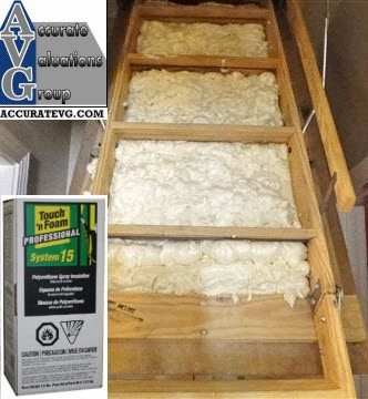 Baton Rouge Appraiser Best Method Ive Seen To Insulate Attic Door