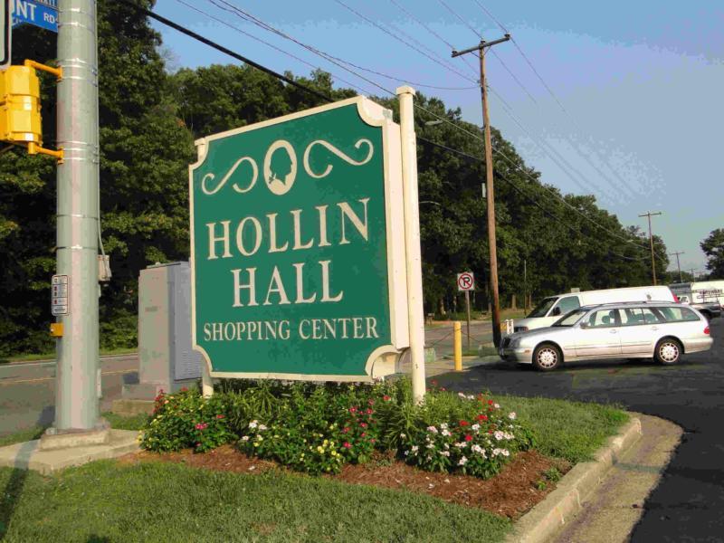 Hollin Hall shopping center