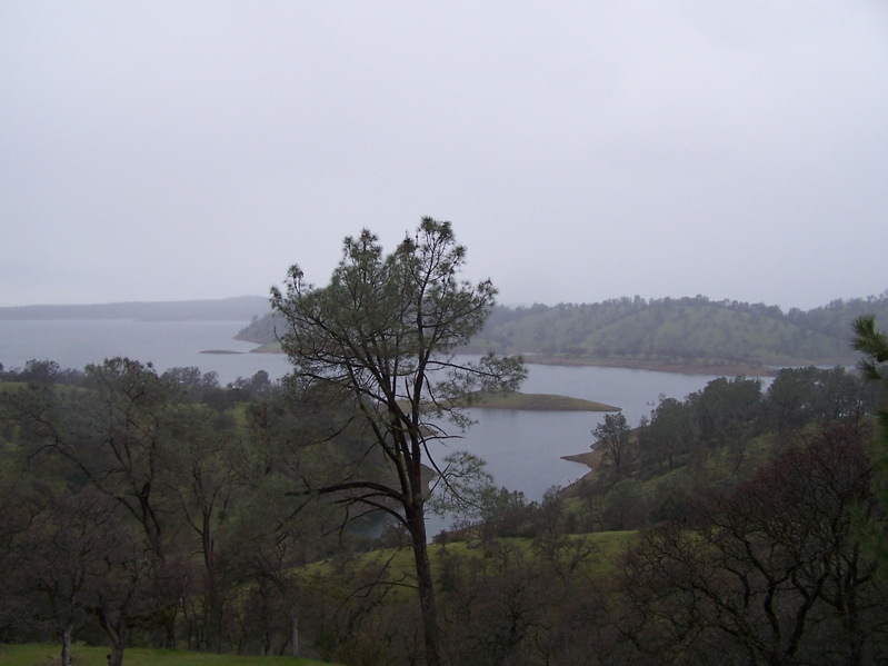 View of Lake Don Pedro in Tuolumne County CA
