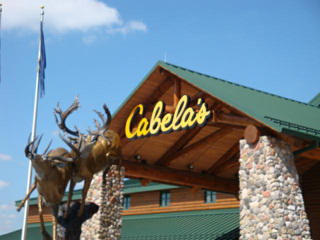 Entrance To Cabelas in Hammond INDIANA