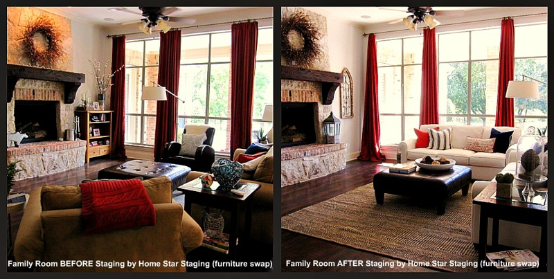 Through The Eyes Of A Home Stager; A Property Transformation, No Furniture  Rental Required