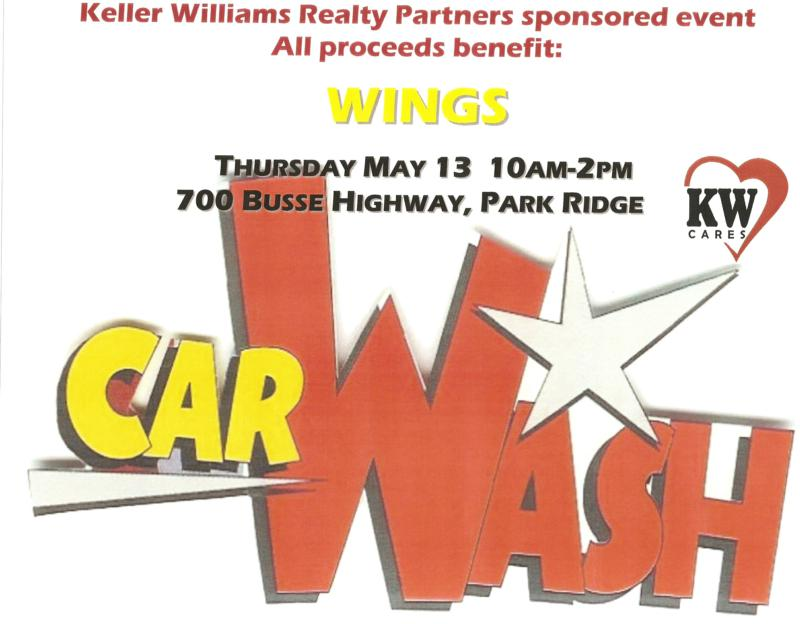 Keller Williams Realty Partners car wash 5-13-10