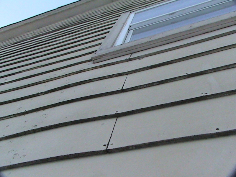 Hard board siding