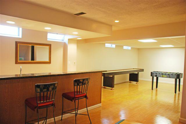 finished lower level 6526 Woodbury Drive solon ohio