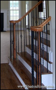 New Home Staircase Design | Staircase Trends | Popular Staircase Styles