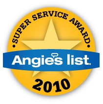 Angies List Super Service Award 2010 Portland Home Staging
