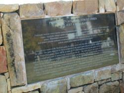 Stickball Park monument