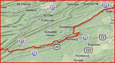 Schuylkill County Hiking Trails