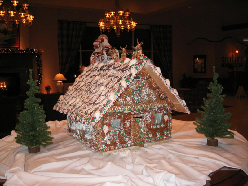 Gingerbread House Seattle
