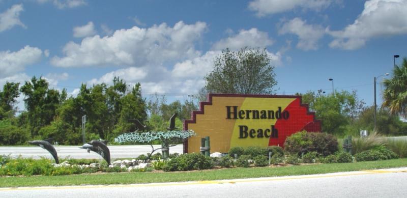 Hernando Beach Waterfront Homes