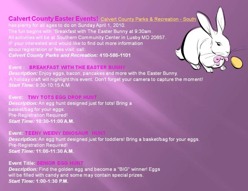 Calvert County Events