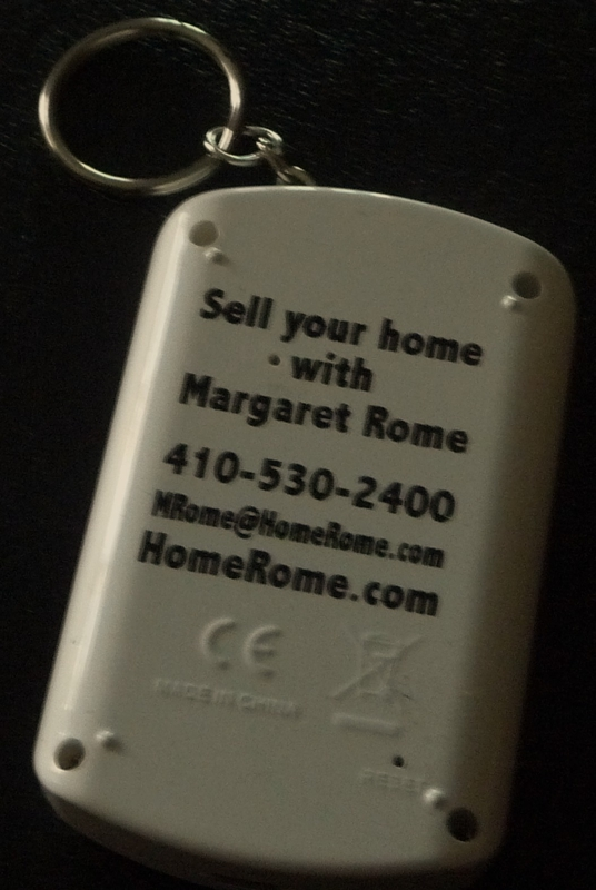 Digital Key chain HomeRome 410-530-2400