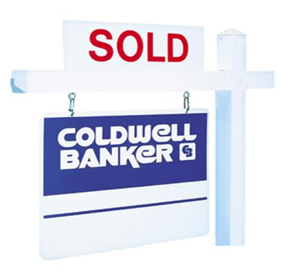 CB sold sign