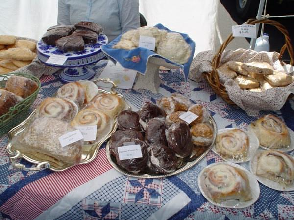 Payson Farmers Market baked goods