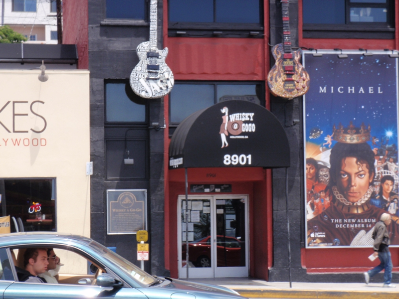whiskyagogo Rock MEcca in West Hollywood,CA
