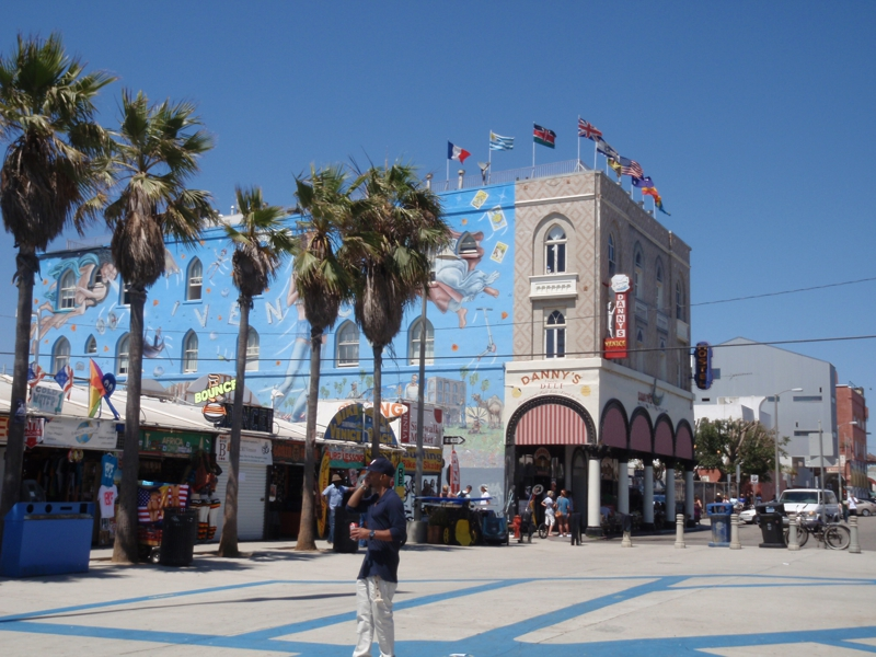 Venice Boardwalk by Endre Barath,Jr.