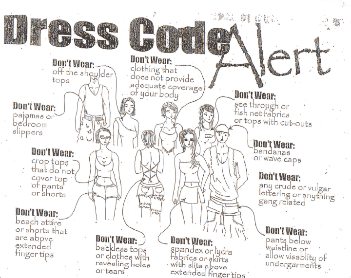 Elementary school dress code images