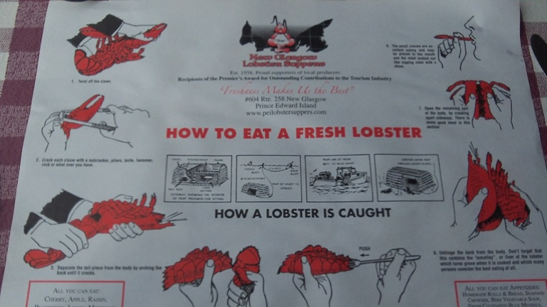 lobster directions
