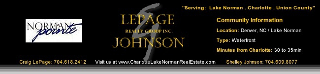 Norman Pointe Waterfront Homes for Sale | Denver Lake Norman Homes