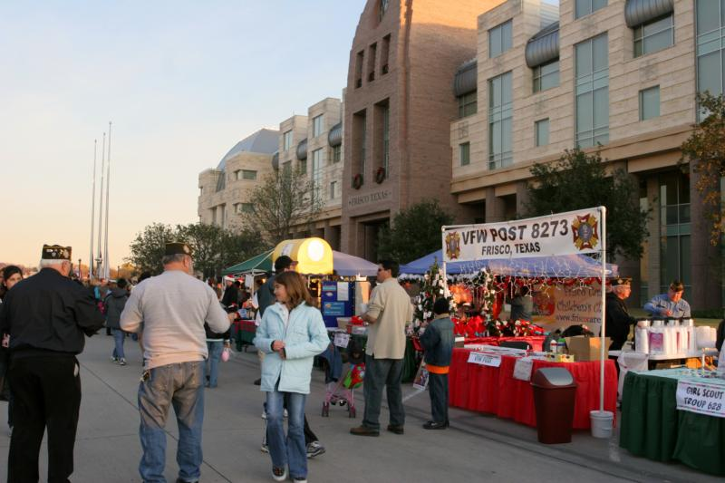Frisco Tx Celebrates Merry Main Street Saturday December 5
