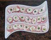 Lori's sliced ham rolls - perfect party appetizer