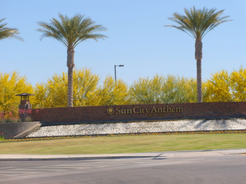 Sun City Anthem Entrance