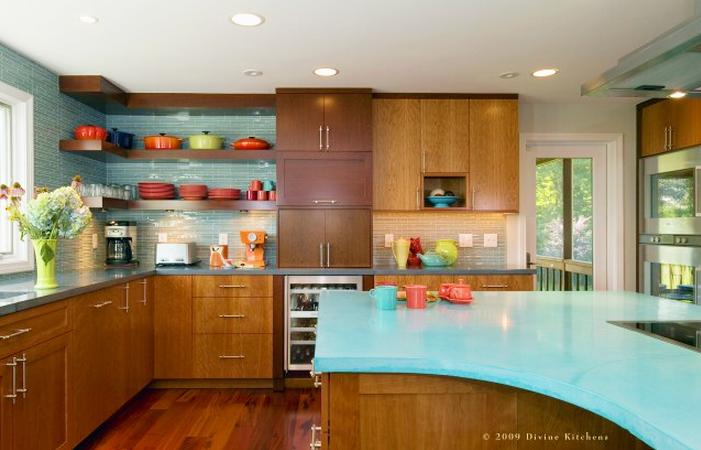 mid century modern kitchens With kitchen colors with white cabinets with mid century metal wall art