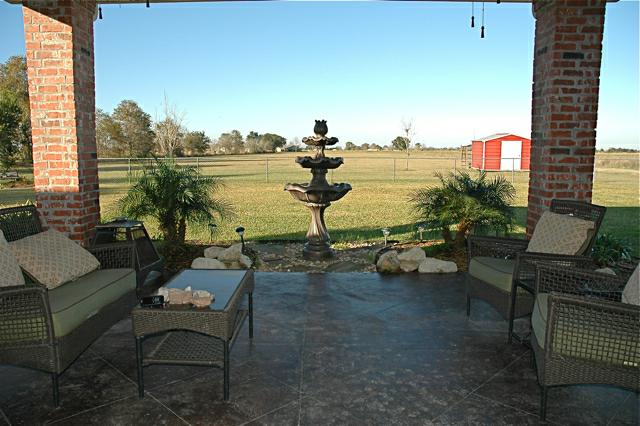 3913 Bella Road, Maurice, LA - Patio