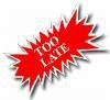 TOO LATE HomeRome 410-530-2400