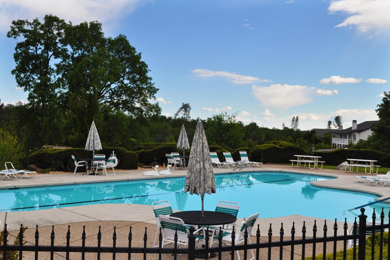 the pool at The Vineyard
