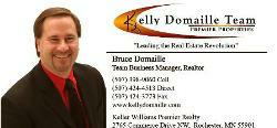 Rochester Minnesota Real Estate agent Bruce Domaille