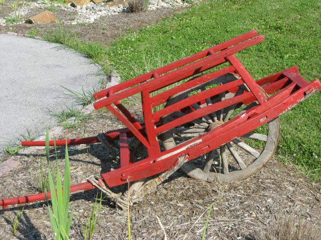 One big wheel powered wheelbarrow - Homesteading Questions