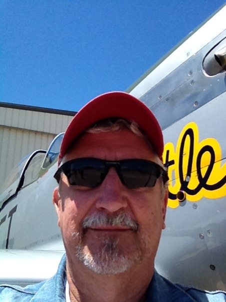 Bob Gilbert at air show
