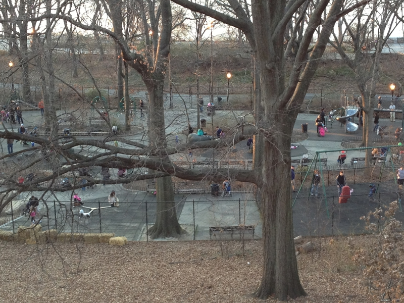 Playground at Riverside Park