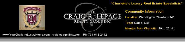 The Club at Longview / Waxhaw NC / Gated Communities / Charlotte Luxury Real Estate / Luxury Homes / Golf Communities