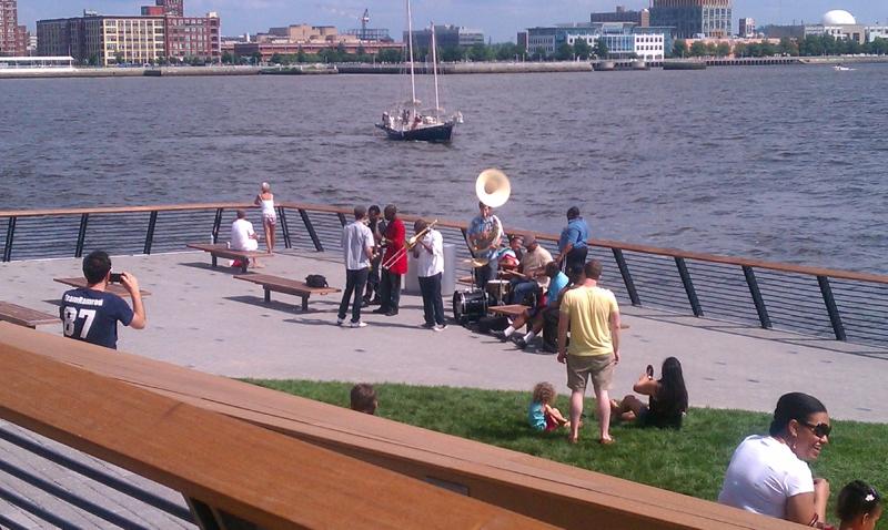 Race Street Pier - Jazz Band