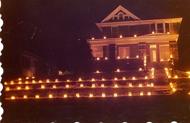 Luminaries in Casper Wyoming at 730 Clarendon McCormack Home