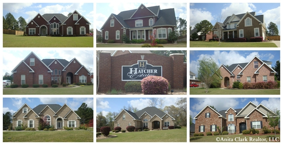 Homes for sale in hatcher estates subdivision in warner for Home builders in warner robins ga