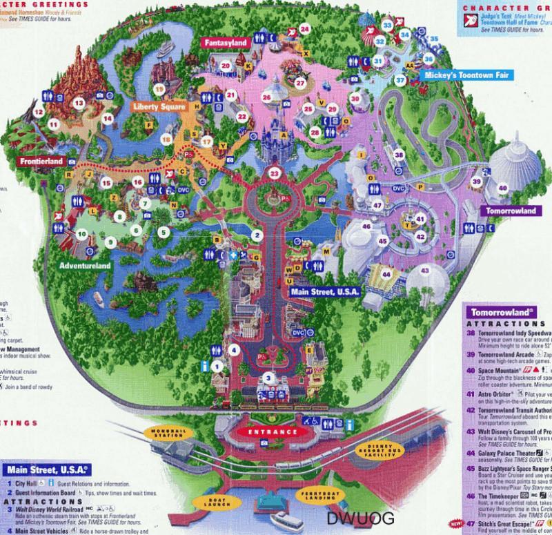 Adventureland Disney World Map.Top Secret Disney Tunnels Exposed