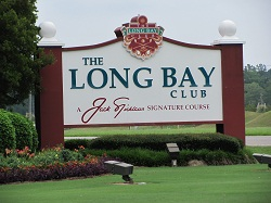 Entrance to The Long Bay Club in Longs, SC