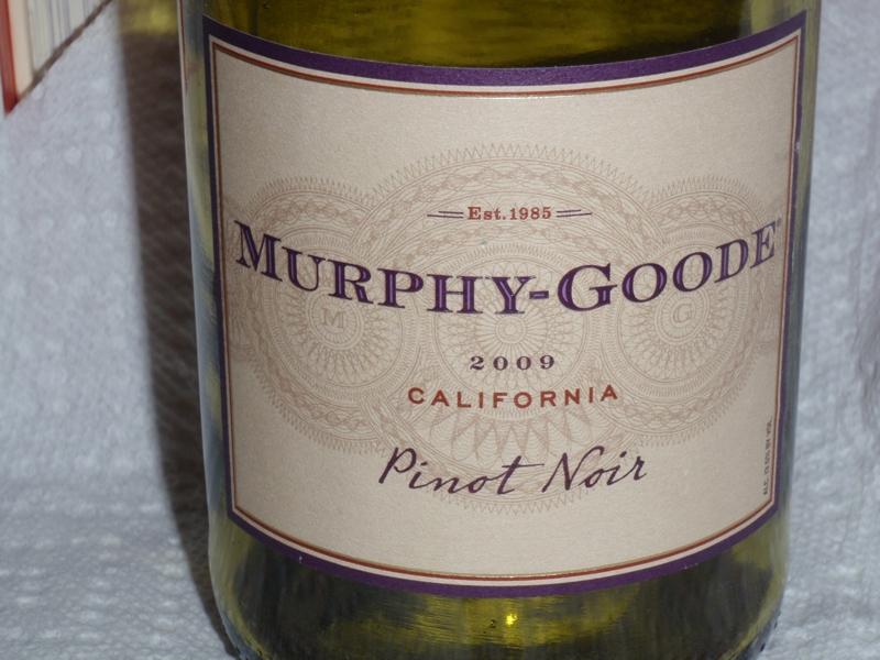 Murphy Goode Pinot Noir by Endre Barath,Jr.